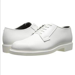 🔴 Bates Men's Lites Leather Uniform Oxford Shoes